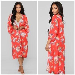 Floral Kimono SIZE XL